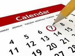 immagine del calendario